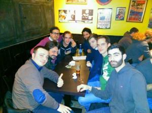 In foto: una riunione della sezione romana del CCN Italia.