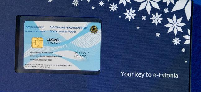Risultato immagini per carta identità estone