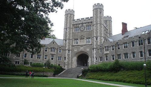 L'Università di Princeton nel New Jersey, Stati Uniti